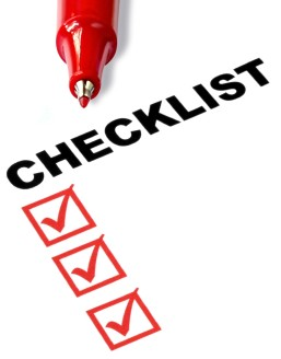Weekly Accountability Checklist