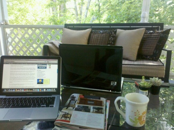 My Outdoor Office