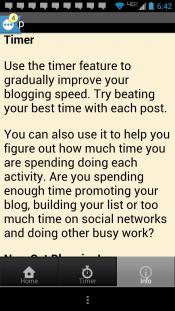 blog calendar features