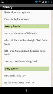 Marketing Content Calendar