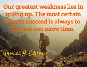 Thomas Edison Quote Graphics