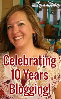 Lynn Terry 10 Years Blogging