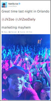 Vanilla Ice @ Marketing Mayhem Live in Orlando