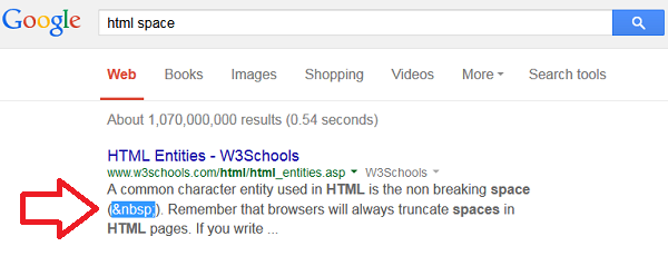 Getting answers from Google