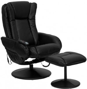 reclining office chair with massage heat you ll love this one