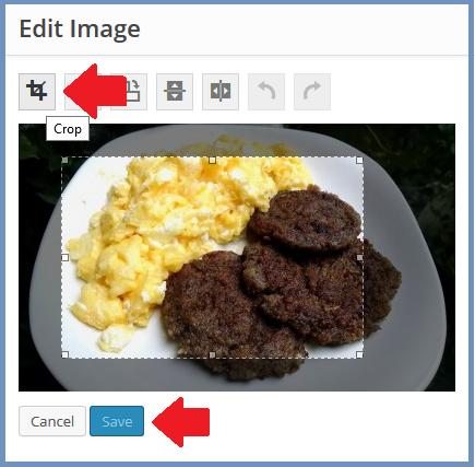 Crop Pictures Inside WordPress