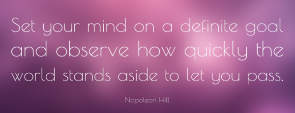 Favorite Napoleon Hill Quote
