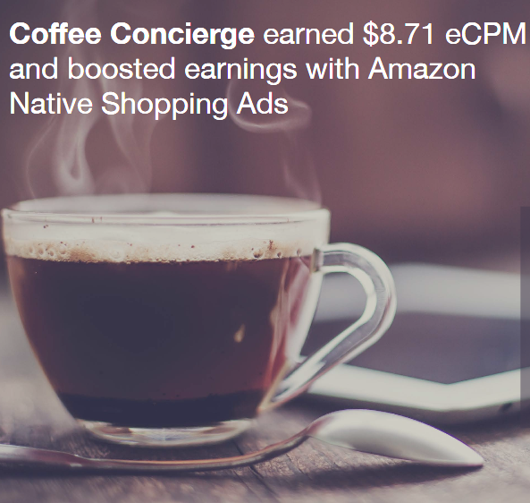 Amazon Native Shopping Ads Case Study