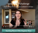 Free 30 Day Video Training & Challenge Starts March 19th!