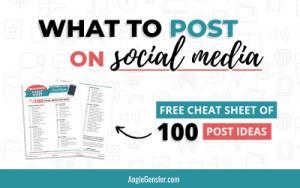 2020 Social Media Content Ideas